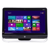HP Pavilion TouchSmart 23-f250 All-in-One Desktop Computer