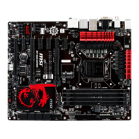 MSI Z87-GD65 Gaming Socket LGA 1150 ATX Intel Motherboard