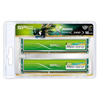 Silicon Power Xpower 16GB DDR3-2400 (PC3-19200) CL11 Dual Channel Desktop Memory Kit (Two 8GB Memory Modules)