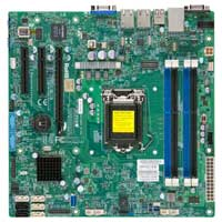 Supermicro X10SLM-F Socket LGA 1150 C224 mATX Intel Xenon Server Motherboard