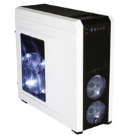 Corsair Carbide Series 500R Mid Tower ATX Gaming Computer Case - White (Open Box)