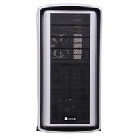 Corsair Special Edition Graphite Series 600T Mid Tower ATX Gaming Computer Case - White (Open Box)
