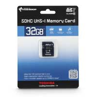 Toshiba 32GB Class 10 Secure Digital High Capacity Card (SDHC) Flash Media Card PFS032U-1DCK