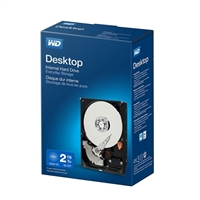 "WD Desktop Mainstream 2TB Intellipower SATA III 6.0Gb/s 3.5"" Internal Hard Drive WDBH2D0020HNC-NRSN"