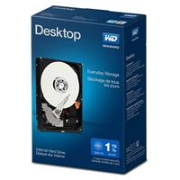 "WD Desktop Mainstream 1TB 7,200 RPM SATA III 6.0Gb/s 3.5"" Internal Hard Drive WDBH2D0010HNC-NRSN"