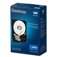 "WD Desktop Mainstream 500GB 7,200 RPM SATA III 6.0Gb/s 3.5"" Internal Hard Drive WDBH2D5000ENC-NRSN"