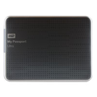 WD My Passport Ultra 500GB SuperSpeed USB 3.0 Portable External Hard Drive - Titanium