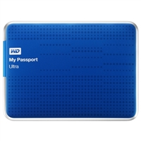 WD My Passport Ultra 1TB SuperSpeed USB 3.0 Portable External Hard Drive - Blue