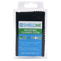 "Shield Me Microfiber Cleaning Cloth with Eco-Vinyl Pouch 10"" x 10"""