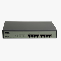 Netis 8 Port Fast Ethernet PoE Switch (Full PoE with 15.4W each port)