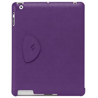 Brenthaven Trek Hardshell Folio - Purple