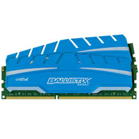 Crucial Ballistix Sport XT 8GB DDR3-1600 PC3-12800 CL9 Dual Channel Desktop Memory Kit Two 4GB Memory Modules