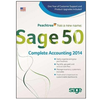 Sage Software 2014 Sage 50 Complete Accounting 1 User (PC)