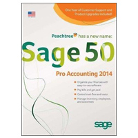 Sage Software 2014 Sage 50 Pro Accounting 1 User (PC)