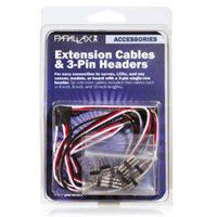 Parallax, Inc. 3-Pin Header Extension Cables - Retail
