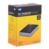 WD My Passport Studio 2TB FireWire 800/USB 2.0 Portable External Hard Drive for Mac