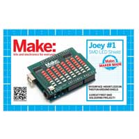 O'Reilly Maker Shed Joey Hudy #1 SMD LED Arduino Shield