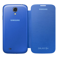 Samsung Flip Cover for Galaxy S IV - Light Blue