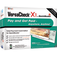 VersaCheck VersaCheck X1 for QuickBooks gT (PC)