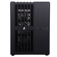 Corsair Carbide Air 540 High Airflow White LED ATX Cube Computer Case - Black