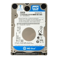 WD WD Blue 320GB 5,400 RPM SATA 6.0Gb/s Internal Hard Drive - Bare Drive