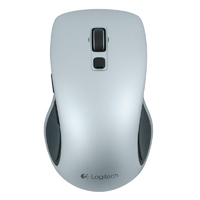 Logitech M510 Wireless Laser Mouse - Silver
