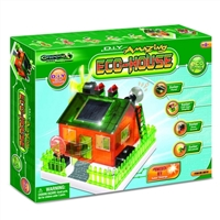 TEDCO Toys Solar Powered Eco House