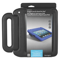 Kensington SafeGrip Rugged Carry Case and Stand for iPad2/3/4 - Charcoal