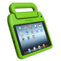 Kensington SafeGrip Rugged Cover with Stand for iPad mini - Green
