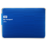 WD My Passport 2TB SuperSpeed USB 3.0 Portable External Hard Drive - Blue