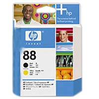 HP HP 88 Black and Yellow Printhead (C9381A)