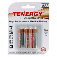 TenErgy AAA Alkaline Batteries 4-Pack