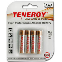 TenErgy AAA Alkaline Batteries 8-Pack