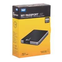 Western Digital My Passport Air 500GB SuperSpeed USB 3.0 Portable External Hard Drive - Black