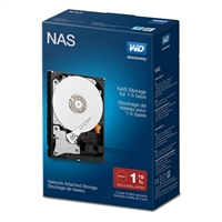 "WD Red Network 1TB Intellipower SATA III 6Gb/s 3.5"" Internal NAS Hard Drive - WDBMMA0010HNCNRSN"