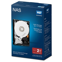 "WD Red Network 2TB Intellipower SATA III 6Gb/s 3.5"" Internal NAS Hard Drive -  WDBMMA0020HNCNRSN"
