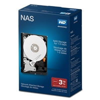 "WD Red 3TB Intellipower SATA III 6Gb/s 3.5"" Internal Hard Drive (NAS) WDBMMA0030HNCNR"