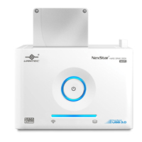 Vantec NexStar SuperSpeed USB 3.0 WiFi Hard Drive Dock - White