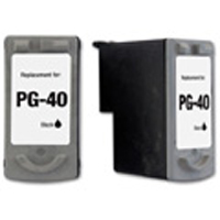 Micro Center Remanufactured Canon PG-40 Black Ink Cartridge