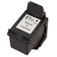 Micro Center Remanufactured HP 61XL Black Ink Cartridge