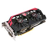 MSI NVIDIA GeForce GTX 760 Overclocked 2048MB GDDR5 PCIe 3.0 x16 Video Card