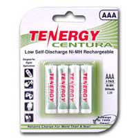 TenErgy AAA Ni-MH 800 mAh Battery 4 Pack