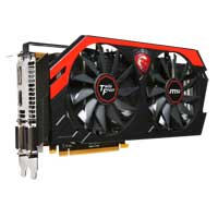 MSI NVIDIA GeForce GTX 770 Twin Frozr Overclocked 2048MB GDDR5 PCIe 3.0 x16 Video Card