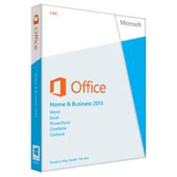 Microsoft Office Home and Business 2013 - License