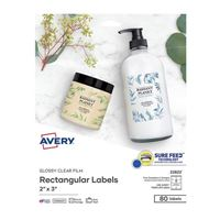 Avery 22822 Business Builders Print-to-the-Edge Rectangular Labels 80-Pack