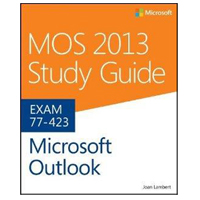 Microsoft Press MOS 2013 OUTLOOK