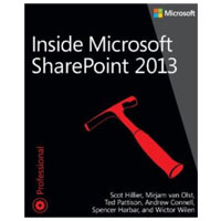 Microsoft Press INSIDESHAREPOINT 2013