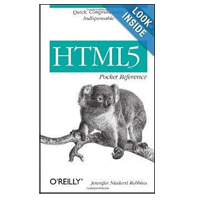 O'Reilly HTML5 POCKET REFERENCE 5E