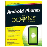 Wiley ANDROID PHONES DUMMIES