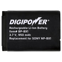 Digipower Replacement Battery for Sony NP-BX1